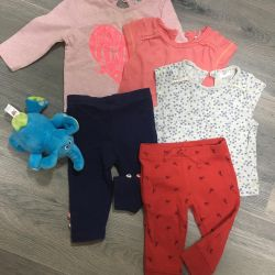 Clothing for girls 62 size