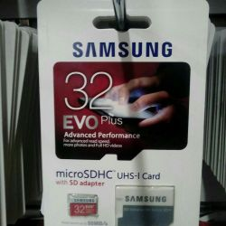 Samsung 32 gb microSDHC memory card