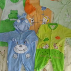 Baby overalls package