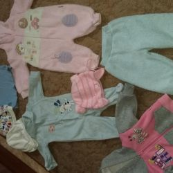 Kids' things. 2-5 months approximately