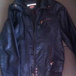 Şık deri ceket Bershka, 42-44-46 (S / M)