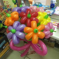 Букет из шаров ( 7 цветочков)
