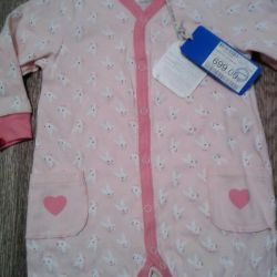 Coverall new, size 80