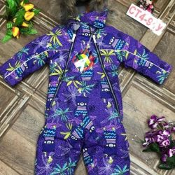 Winter children's overalls