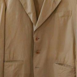 Jacket for men, summer cotton.