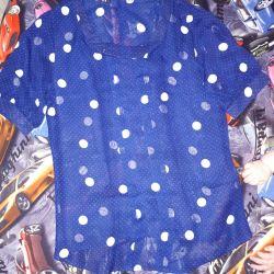 Chiffon blouse. New.