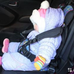 Car seat beskarkasny for the child