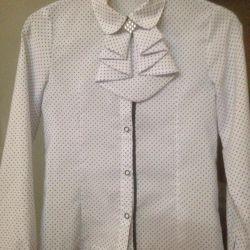 Школьная блузка(10-11 лет)