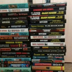 Kitaplar kurgu, dedektifler, Hollywood aksiyon filmleri