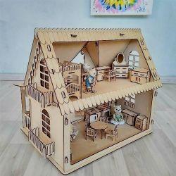 Ahşap oyuncak ev