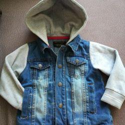 Детская курточка джинсовая