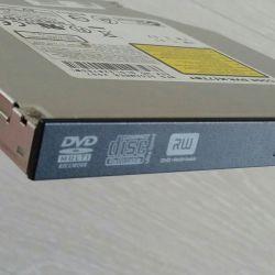 Μονάδα δίσκου DVD RW για φορητό υπολογιστή