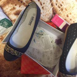 Νέα παπούτσια για κορίτσι μεγέθους 35