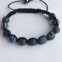 Shambhala bracelet made of natural stones