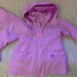 For 2 identical jackets Ciraf, Finland 116cm, 128cm