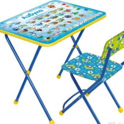 Children's table + chair New