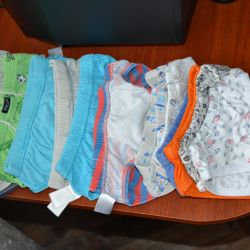 Pants for a boy from 1 to 3 years 14pcs