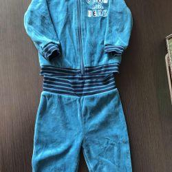 Спортивный костюм для новорожденного 6-9 месяцев