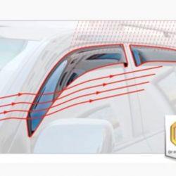 Дефлекторы на Nissan Juke