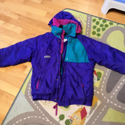 Columbia jacket for summer residence