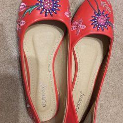 Παπούτσια-παπούτσια μπαλέτου