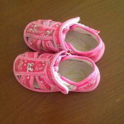 Slippers for girls Kotofey