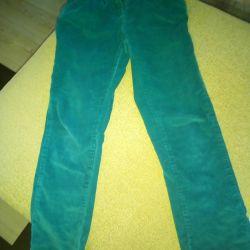 Corduroy pants 128-134