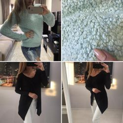 Forever 21 US sweater and Calliope sweater