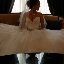 Wedding dress from Oksana Mucha