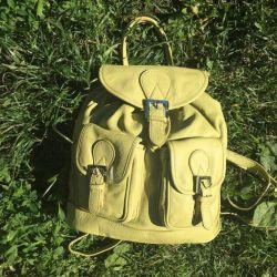 Yeni deri sırt çantası İtalya Jacky & Celine