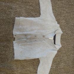 Μπουφάν για ένα αγόρι, μέγεθος 74-80