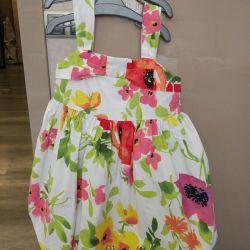 Kız için yazlık elbise