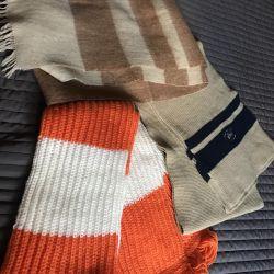 3 volume scarves