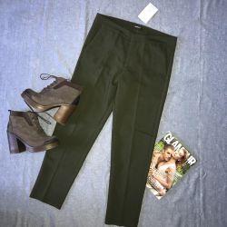 Новые женские брюки и ботинки из натуральной кожи