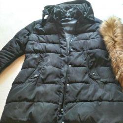 Jachetă caldă, lungă