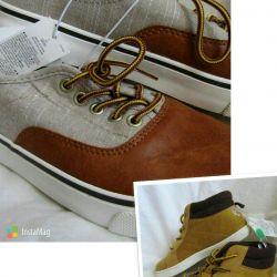 Αγόρι 27 28 30 35 r παπούτσια γυμναστικής Carters