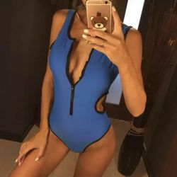 New one-piece swimsuit