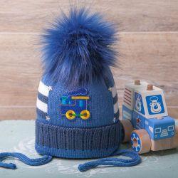 Kiti. Kış şapka, yeni