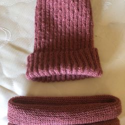 New cap and scarf for spring-autumn