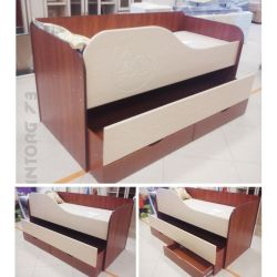 Bed 2x pull-out