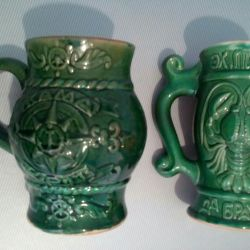 Beer mugs of the USSR