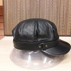 German leather cap