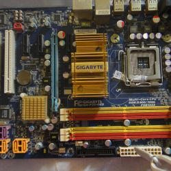 Μητρική πλακέτα GIGABYTE GA-P35C-DS3 για επισκευή