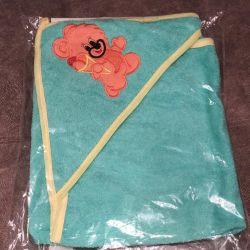 Полотенце для новорождeнных