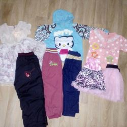 Pack of things for a girl (80-92)