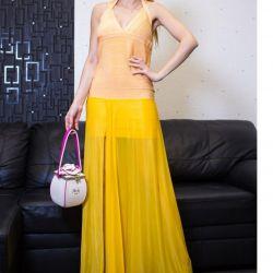 Şifon etekli elbise