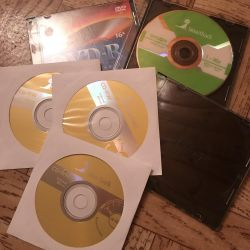 Empty discs
