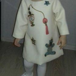 Dress baby height 104 cm (2.5-4 years)