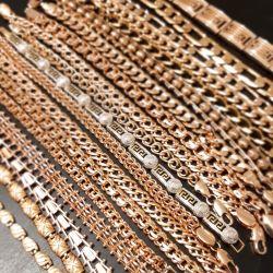 Gold female bracelet