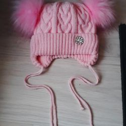 Χειμερινό καπέλο για κορίτσια